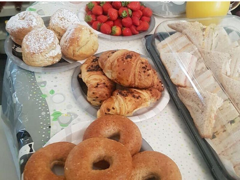 wedding morning breakfast ideas