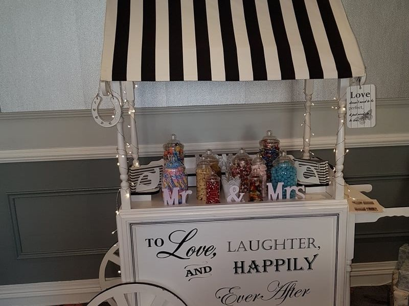 Candy Cart Wedding