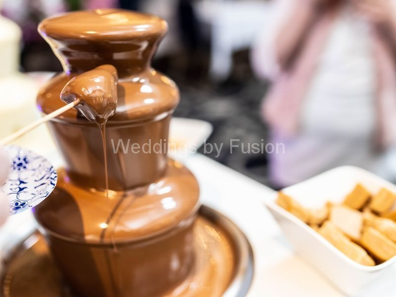 Chocolate Fountain at Wedding