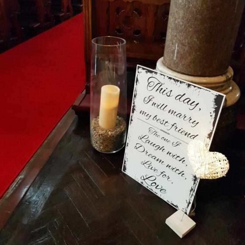 Church & Ceremony Decor Hire