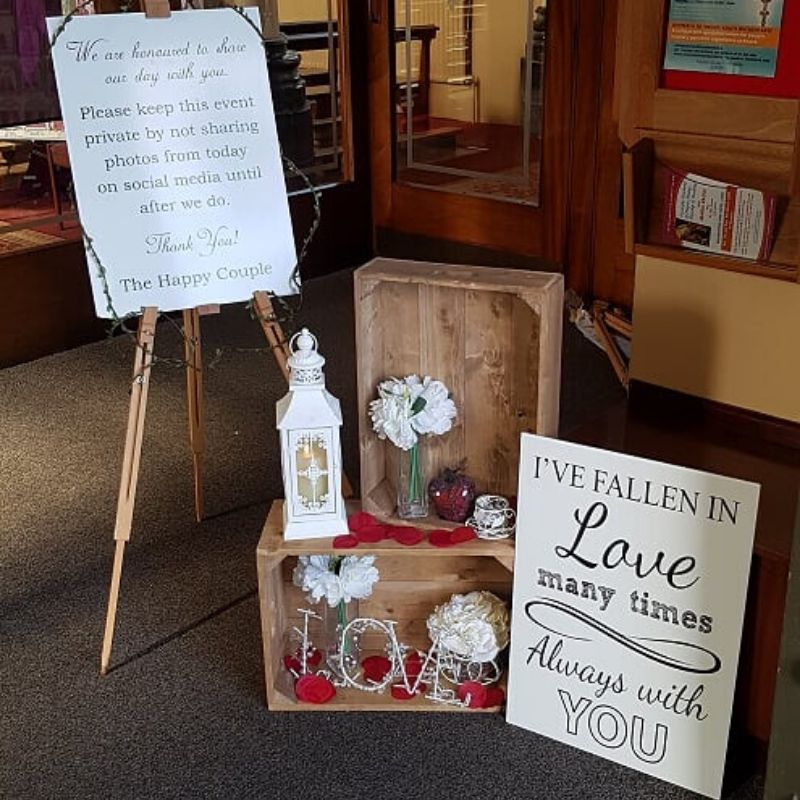 Church Decorations for Weddings Ireland