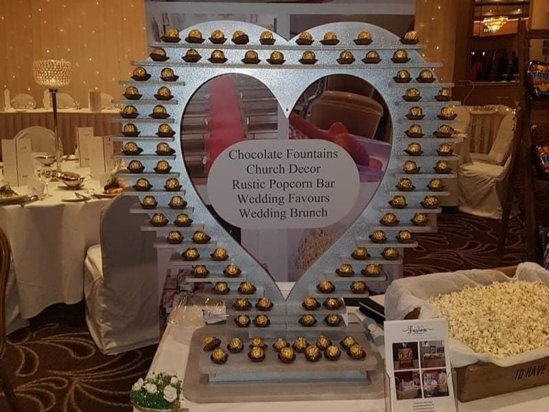 Ferrero Rocher Heart Shaped Stand