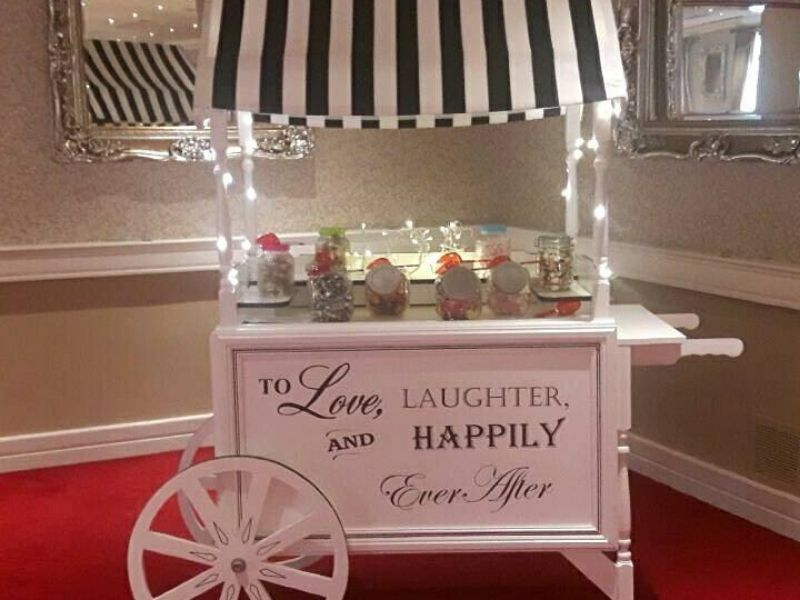 Gin Bar Cart Hire Wedding
