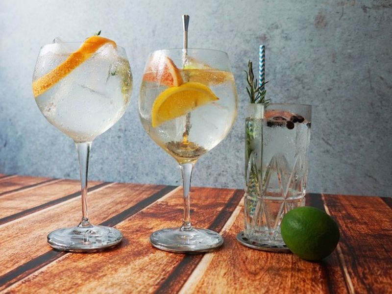 Gin Cart Hire for Weddings Ireland