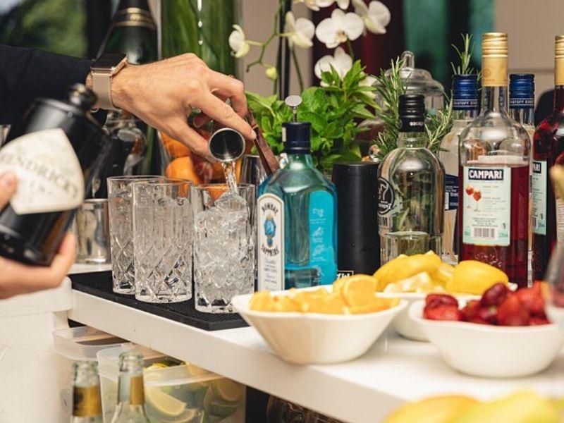 Gin Bar Hire for Wedding