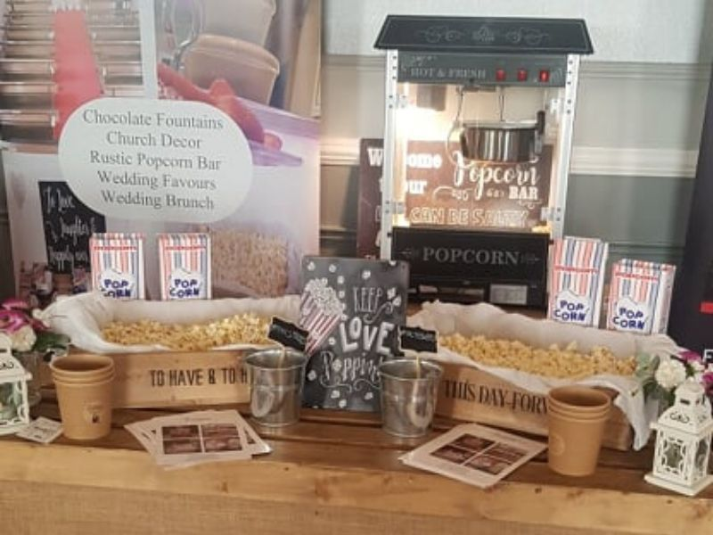 Popcorn Machine Hire Wedding