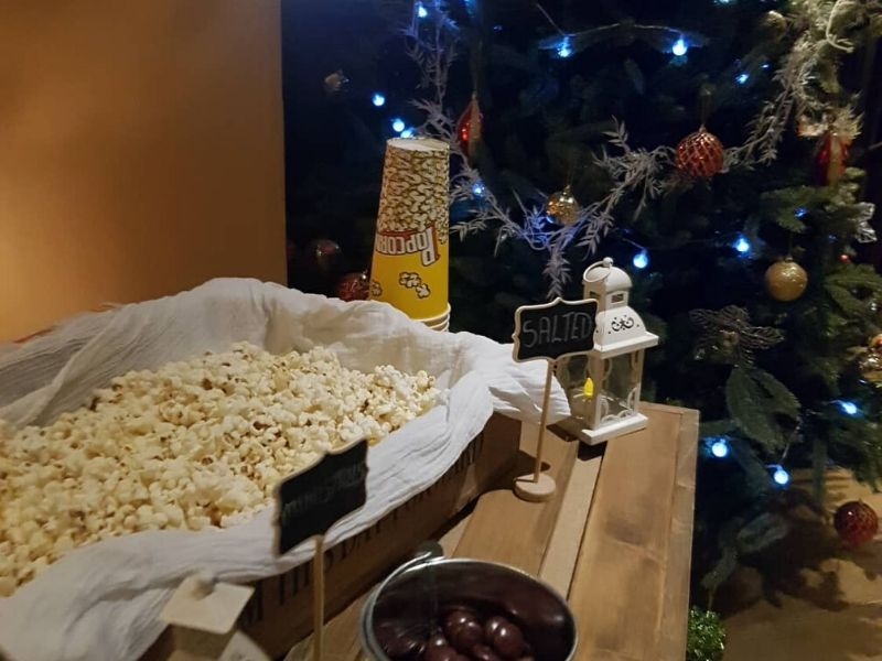 Wedding Popcorn Station