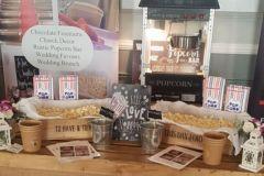 Popcorn Machine Hire Wedding